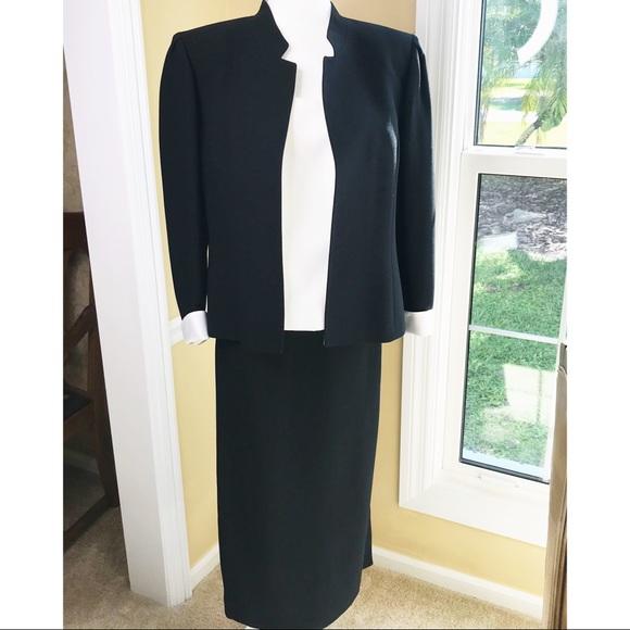 Vintage Tahari Black Blazer Dress